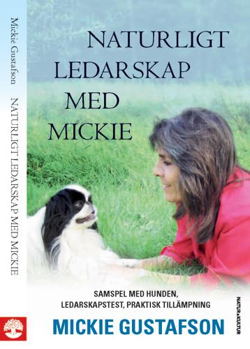 Omslag Naturligt ledarskap med Mickie