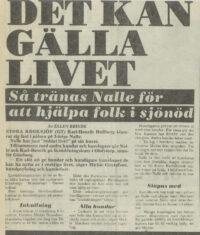 GT Livräddning 1982 forts.