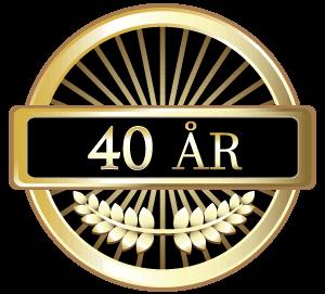 40 år!